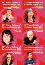 JURY OF 53rd WORLD GALLERY of CARTOONS Skopje 2021