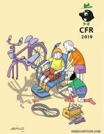 Winners and Album Stichting of Cartoonfestival Rotterdam /Netherlands 2019