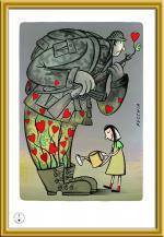 Gallery of The 17th International Cartoon Contest SYRIA -2021