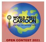 WORLD PRESS CARTOON CALDAS DA RAINHA 2021