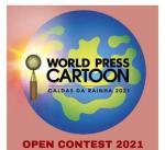 WINNERS of WORLD PRESS CARTOON CALDAS DA RAINHA 2021